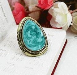 Color Impression Adjustable Vintage Style Ring    LilyFair Jewelry