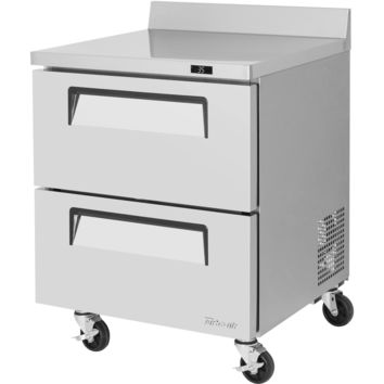 """Turbo Air Commercial Work Top Refrigerator 28"""" with 2 Drawers"""