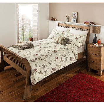 George Home Highland Dog and Pheasant Duvet Set | Bedding | ASDA direct