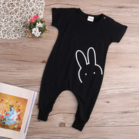 Rabbit Printed Baby Romper