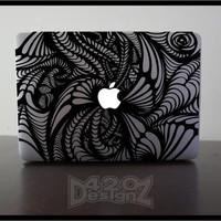 Pattern - Macbook Air, Macbook Pro,  Macbook decals, sticker Vinyl Mac decals Apple Mac Decal, Laptop, iPad