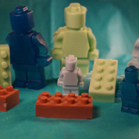 Honey I Washed the Kids Lego Shaped Man|Lego Shaped Bricks|Glycerin Soap|Detergent Free|Shea Butter Soap|Glycerin|Gifts|Gift for Boys|Easter