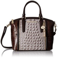 Brahmin Duxbury Satchel Convertible Top Handle Bag
