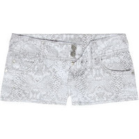 ALMOST FAMOUS Snake Print Womens Denim Shorts 195563150 | Shorts | Tillys.com