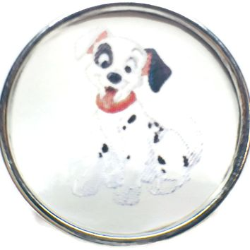 Disney 101 Dalmatians Puppy 18MM - 20MM Fashion Snap Jewelry Snap Charm New Item