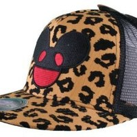Amazon.com: Deadmau5 Leopard Flock Print Snapback Hat: Clothing