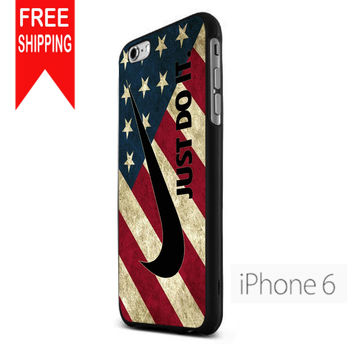 Nike American Flag KK iPhone 6 Case