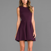 Diane von Furstenberg Jeannie Dress in Brazen Plum