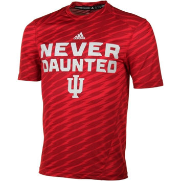 Indiana Hoosiers adidas Player Training Performance T-Shirt - Crimson