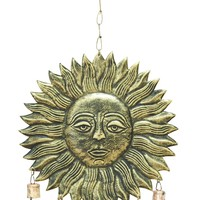 Hanging Sun Face Wind Chime For Melodious Sound