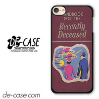 Beetlejuice Inspired Handbook For The Recently Deceased DEAL-1722 Apple Phonecase Cover For Ipod Touch 6