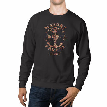 Mayday Parade Floral Unisex Sweaters - 54R Sweater