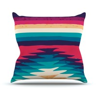 Kess InHouse Nika Martinez Surf Throw Pillow, 26 by 26-Inch