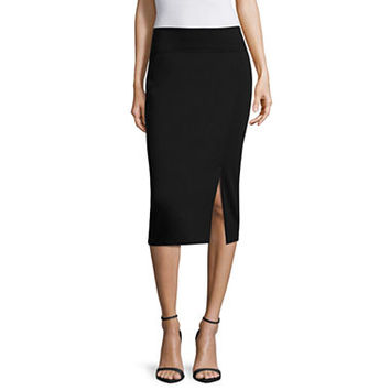 Worthington® Pencil Skirt with Slit