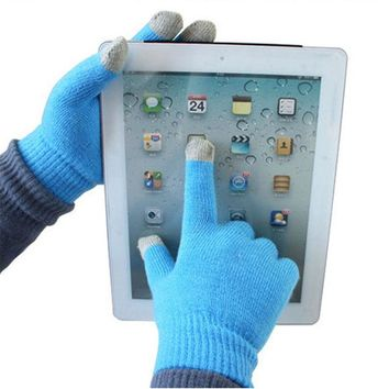 Magic Touch Screen Gloves Smartphone Texting Stretch Adult One Size Winter Knit Gloves