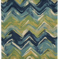 "Chevron Playa 27"" x 8' Indoor Rug"