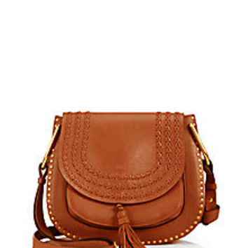 Chloé - Hudson Braided Leather Shoulder Bag - Saks Fifth Avenue Mobile