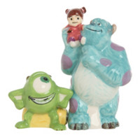 Disney Monsters, Inc. Sulley And Mike Salt And Pepper Shakers
