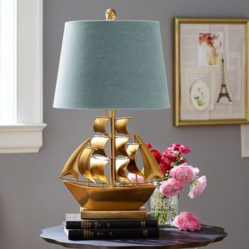The Emily & Meritt Pirate Ship Table Lamp