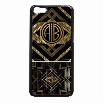 the great gatsby monogram f61928f6-2b36-4964-8fd3-1463b9f1334b FOR iPhone 5C CASE *NP*