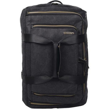 COCOON MCP3504BK Urban Adventure Convertible Carry-on Travel Backpack