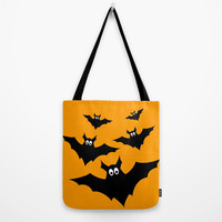 Cool cute Halloween bats Tote Bag by PLdesign | Society6