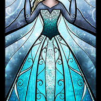 The Snow Queen Art Print by Mandie Manzano