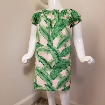 Palm Leaves Dress