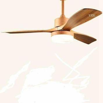 DCKL9 Nordic simple fan light fan chandelier lamp frequency conversion fan chandelier living