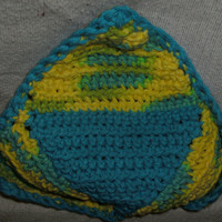 Handmade Crocheted dishcloth by CanadianCraftCritter on Etsy