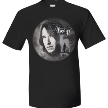 ALWAYS-SEVERUS SNAPE SHIRT nqalt2