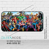 superman iPhone5 Case, iPhone 4 case, iPhone 5C Case, iPhone5s Case, iPhone Case, Phone Cases - M5087