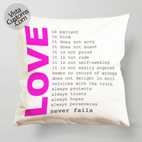 Love quotes, Harry Styles one direction pillow case, cover ( 1 or 2 Side Print With Size 16, 18, 20, 26, 30, 36 inch )