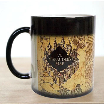 Harry Potter Marauders Map Magic Color Changing