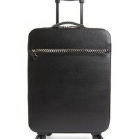 Stella McCartney Falabella Faux Leather Spinner Suitcase | Nordstrom