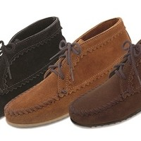 Minnetonka Suede Ankle Boots (Multiple Colors)