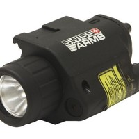 Soft Air Swiss Arms Soft Air Flashlight/Laser Set, Black