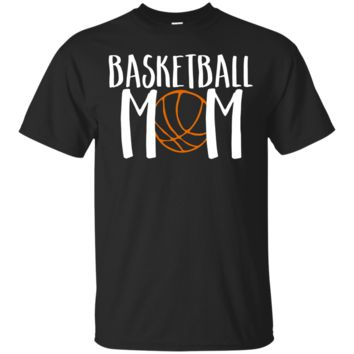 Basketball Mom Cute Cheer Vintage Cool Mother Fan T-Shirt Hoodie