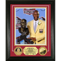 Jerry Rice HOF Induction Ceremony 24KT Gold Coin Photo Mint