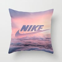 Just Do It (Cloud Edit) Throw Pillow by ParadiseApparel