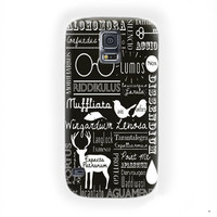 Harry Potter Spells Cover For Samsung Galaxy S5 Case
