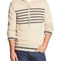 Banana Republic Mens Factory Chest Stripe Hoodie