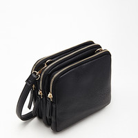 Multi-Compartment Crossbody