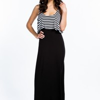 Play It By Tier Maxi Dress