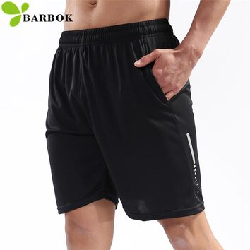 BARBOK Gym Running Shorts Sports Wear Quick Dry Breathable Workout Unisex Couple Fitness Clothing Bodybuilding Jogging  Shorts