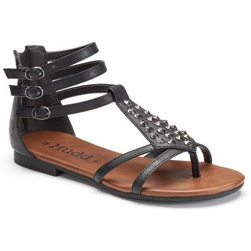 Mudd Women's Gladiator Thong Sandals