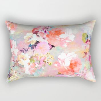 Floral Dream Lumbar Pillow