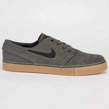 Nike Sb Zoom Stefan Janoski Mens Shoes Dark Base Grey/Black Gum/Light Brown  In Sizes