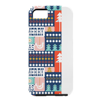 Heather Dutton Christmas Collage Chill Cell Phone Case