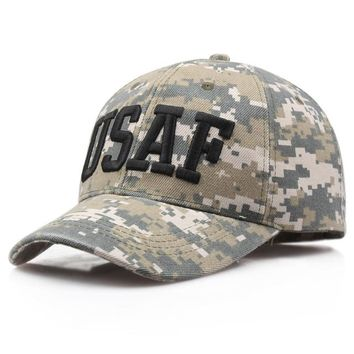 Sports Hat Cap trendy  New US Camouflage Army Baseball Cap Men POLICE OBAMA Snapback Hat Bone Casquette Male Summer Sports Tactical Snapback Cap Gorras KO_16_1